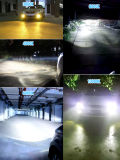 Novo chegam Hb3 Hb4 9005 9006 peças brilhantes super do carro do farol 35W 8000lm do diodo emissor de luz auto substituem o xénon ESCONDIDO