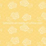 Ontwerp 100% van de bloem de Polyester Afgedrukte Stof van de Matras van het Tricot