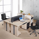 Oficina de Tecnologia Chinesa 4 Seater Office Partition Desk (SZ-WST637)