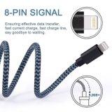 Il cavo Braided blu nero Amazon del USB specificamente per la nuova lega di alluminio può essere personalizzato