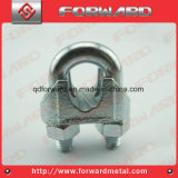 DIN741 철사 밧줄 클립 강철 케이블 죔쇠