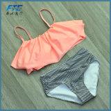 Vita 2017 dello Swimwear delle donne del bikini alta
