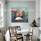 Nordic Style flamingo oil Painting on Canvas