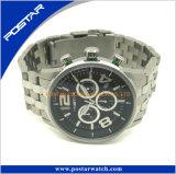 Keur OEM ODM Japan Movt Horloges Seel goed van het Horloge van het Kwarts de Roestvrije Achter