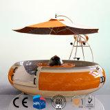 Kayak Donut barco con la función de la barbacoa en el centro