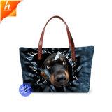 Custom печатаются на пляже Сумка дамы косметический дамской сумочке