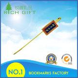 Подгонянный оптовой продажей Bookmark латунного металла высокого качества магнитный