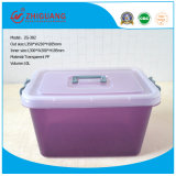 Venta caliente diseño colorido Caja de almacenamiento de plástico Caja de regalo Caja de zapatos de embalaje para el Hogar Productos de plástico