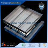 15-20mm à filetage en acrylique épais feuille acrylique pour barrière bruyant