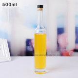 500ml de Kruik van de Wijn van het Glas van de Fabrikant van China met Cork Kurk