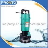 Pompe à eau submersible verticale d'acier inoxydable