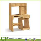 Bureau en bois d'ordinateur de CF avec le bureau d'étude de Bookrack