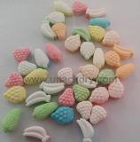 A linha de produção de doces para venda