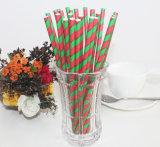 La navidad Carnaval Vantage parte beber de paja de papel