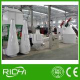 Máquina del molino de la pelotilla de la alimentación de pollo del ganado de la vaca del conejo del cerdo del precio bajo 1-2t/H