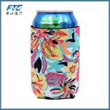 顧客のロゴのFoldable厚さ3mmのネオプレンの短い缶のクーラー