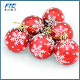 Chuchería al por mayor del ornamento de la Navidad de la bola de la Navidad para el alcohol