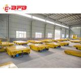 Metallindustrie-Stahlwerk-Gebrauch-elektrischer Übergangslastwagen auf Schienen