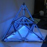 Lumière rigide géométrique de barre de Madrix DMX RVB DEL