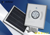 8W 정원 LED 적외선 운동 측정기를 가진 태양 가로등