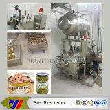 Glass Jarのための蒸気Spray Retort Sterilizer Autoclave