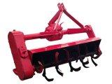 回転式耕うん機が付いている小型2つの車輪の農場の歩くトラクター