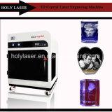 3D Prijs van de Machine van de Gravure van de Laser van het Glas van het Kristal