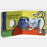 Het modieuze Boek van de Handpop van de Douane voor Baby