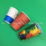 Impresión desechables vasos de papel para beber