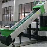 PLC Control Single Screw Extruder Recycling Granulating Machine