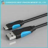 Typ c-Kabel 2.1A Kurbelgehäuse-Belüftung2m USB-3.1 fasten, aufladend für Android