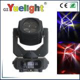 Beweglicher Kopf LED DJ des Fabrik-schlagen Superträger-4X25W RGBW Stadiums-Licht mit einer Keule