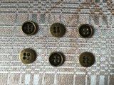 معدنة سبيكة [2/4ه] يخيط زرّ مع صنع وفقا لطلب الزّبون علامة تجاريّة