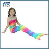Usura all'ingrosso di nuoto del costume da bagno dello Swimwear del vestito della sirena dei bambini di alta qualità