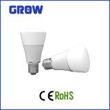 A60 E27 12W Bombilla LED Glaze con CE aprobar