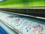 Silbernes Garn-glänzendes Polyester-klassisches Sofa-Gewebe (fth31889)