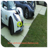 Schwarze Farben-Feuergebühren-/Hochleistungs-/Aufbau-Zugriffs-Matte und temporäre Straßen-Matte