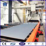 Macchina di granigliatura del trasportatore a rulli per i piatti d'acciaio