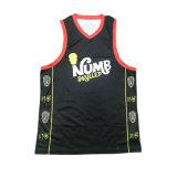 販売のためのバスケットボールのジャージーのカスタムTシャツ
