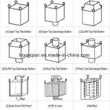 中国の工場はパッキングセメントまたは穀物のための1トン/Polypropelene FIBCを/ジャンボ/大きく/大きさ/適用範囲が広い容器/砂/セメント袋供給する