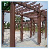 China Jardín al aire libre y el Parque compuesto de plástico Fabricante de valla de madera