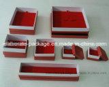 Preiswerte rote Papierschmucksache-verpackengeschenk-Kasten