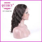 Parrucca non trattata brasiliana della parte anteriore del merletto dei capelli umani del Virgin dell'onda del corpo di Remy