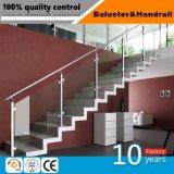 Escada de vidro Inox Balaustrada Corrimãos em aço inoxidável para Etapas Externas