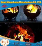 2018 Nouveau bol d'incendie de gravure de couleur rouille Deep Fire Pit