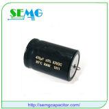 capacitor de alumínio do ventilador do capacitor começar dos capacitores eletrolíticos de 8200UF 350V