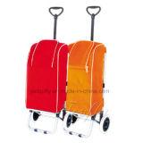 Eisen Rahmen der Shopping Trolley Kühltasche mit Sitz