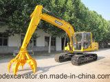 Excavadores de la correa eslabonada de BD para el gancho agarrador hidráulico de /Plum de la máquina Catching del metal