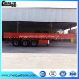 3 de Semi Aanhangwagen van de Zijgevel van de Aanhangwagen van de Vrachtwagen van het ZijComité van de as