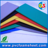 Rotes White Black und Grey Colorful PVC Sheet für Outdoor Printing